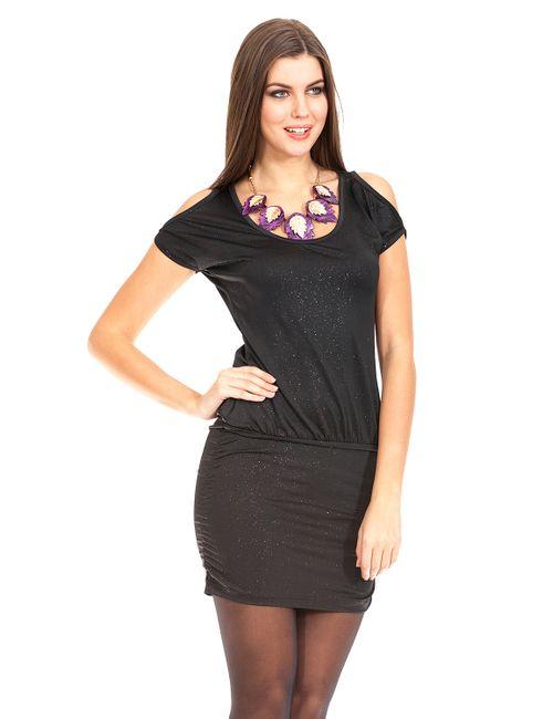 Mondigo | Женское Чёрное Платье 8703