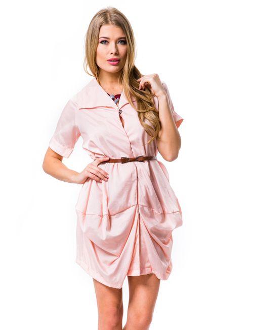 Mondigo | Женская Розовая Туника 9627