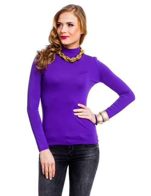 Mondigo | Женская Фиолетовая Водолазка 036