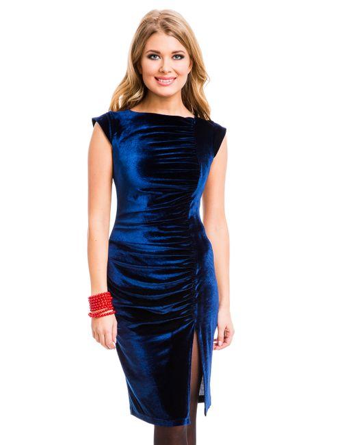 Mondigo   Женское Синее Платье 7018