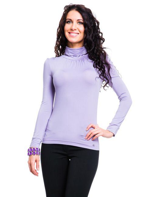 Mondigo | Женская Фиолетовая Водолазка 146