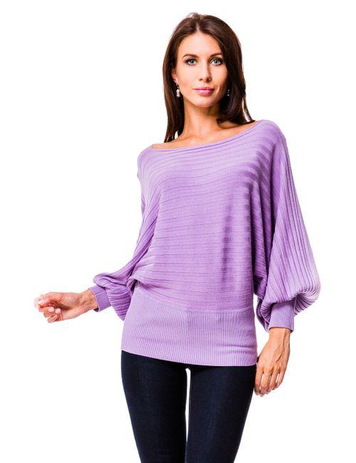 Mondigo | Женский Фиолетовый Джемпер 9422