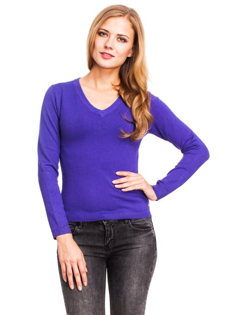Mondigo | Женский Фиолетовый Джемпер 9131