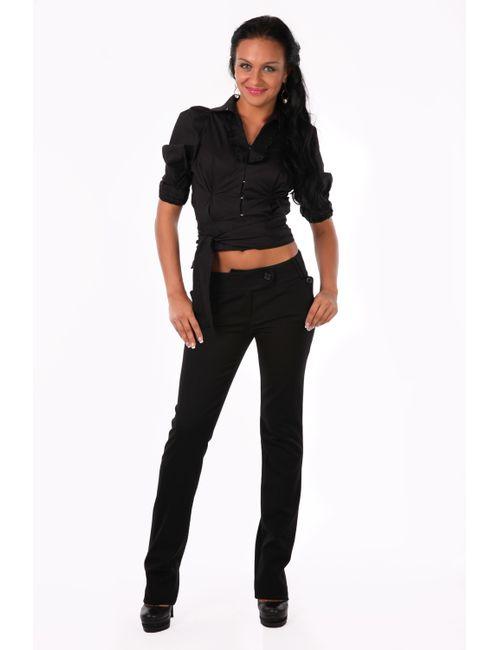 Mondigo | Женская Чёрная Блузка 9635