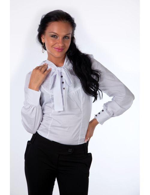 Mondigo | Женская Белая Блузка 9640