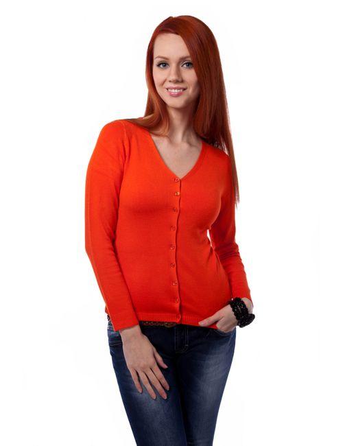 Mondigo | Женский Оранжевый Жакет 9130