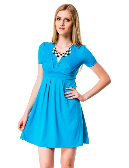 Mondigo | Женское Бирюзовое Платье 6087