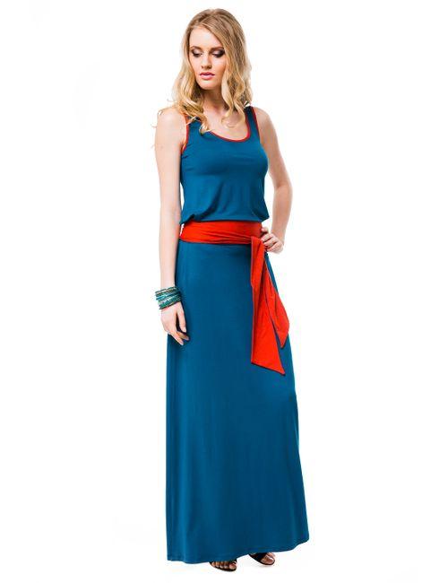 Mondigo | Женское Морская Волна Платье 7041