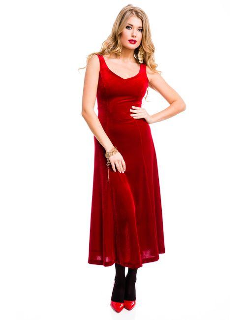 Mondigo | Женское Красное Платье 7017