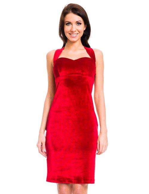 Mondigo | Женское Красное Платье 7024