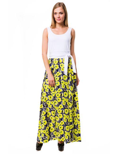 Mondigo | Женское Жёлтое Платье 6123