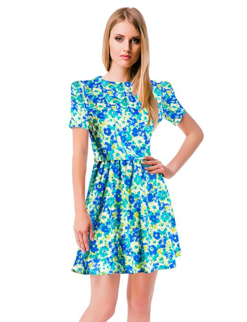Mondigo | Женское Синее Платье 5046