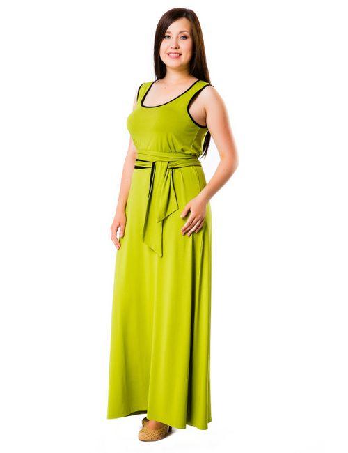 Mondigo | Женское Зелёное Платье 27041