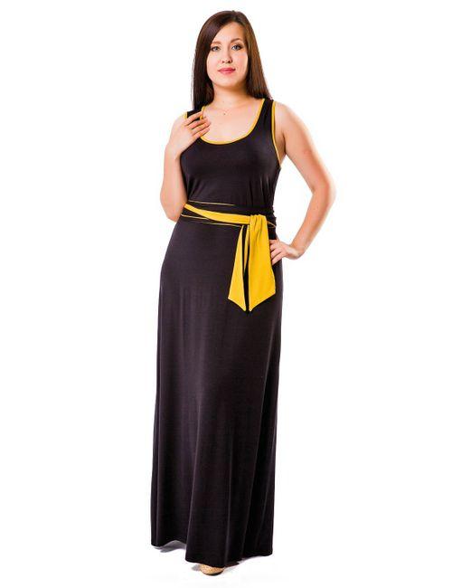 Mondigo | Женское Чёрное Платье 27041