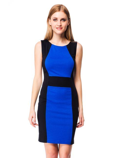 Mondigo | Женское Синее Платье 5058