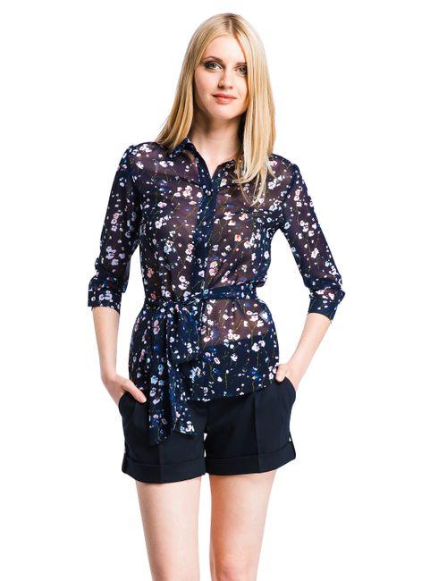 Mondigo | Женская Синяя Блузка 5100-2