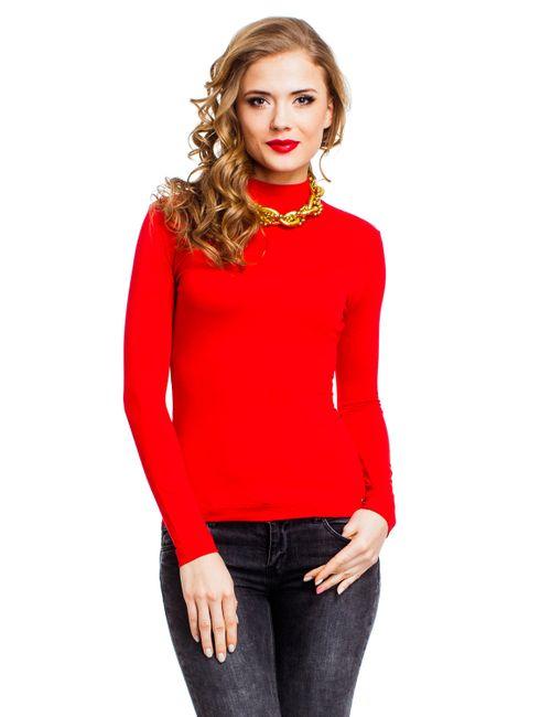 Mondigo | Женская Красная Водолазка 036