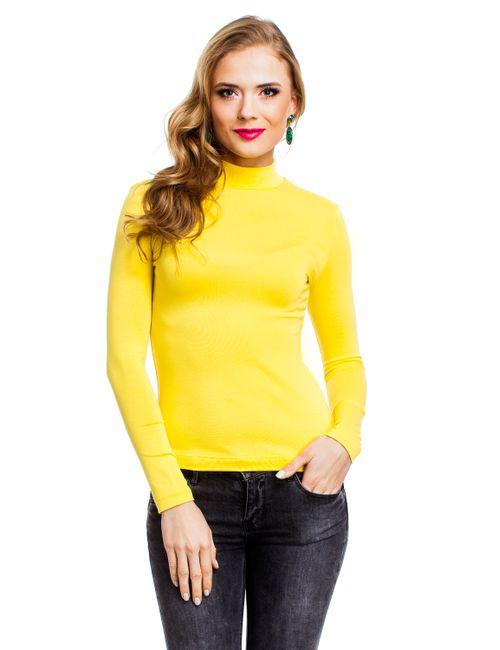Mondigo | Женская Жёлтая Водолазка 036