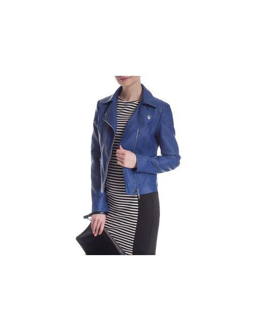 MOTIVI | Женская Байкерская Куртка С Отстрочкой
