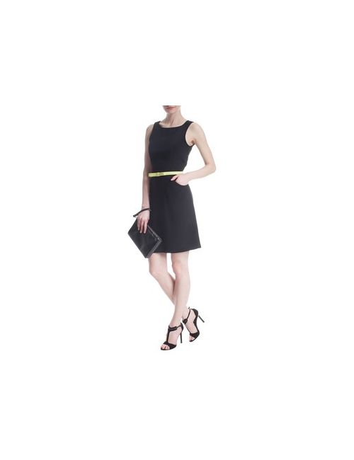 MOTIVI | Женское Чёрное Элегантное Платье Без Рукавов