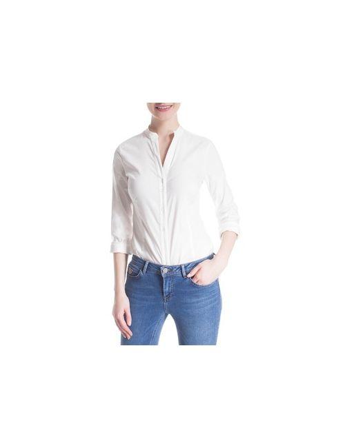 MOTIVI | Белый Рубашка-Body C V-Образным Вырезом