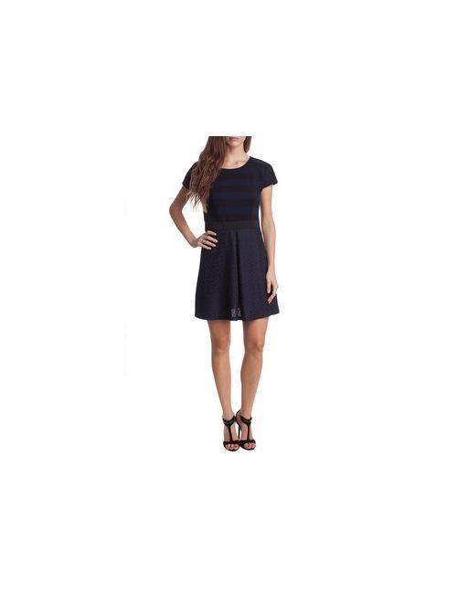 MOTIVI | Женское Синее Комбинированное Платье