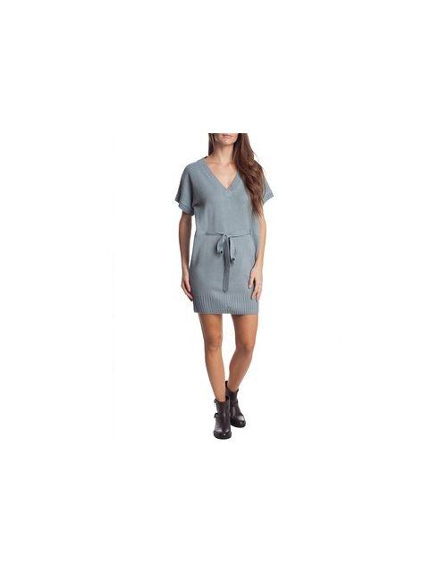 MOTIVI | Женское Белое Трикотажное Мини-Платье С Кушаком