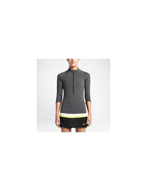 Nike | Женский Теннисный Топ Court Baseline Half-Zip