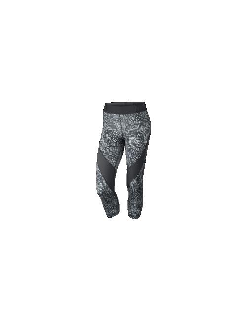 Nike | Женские Тренировочные Капри Pro Hypercool Tidal Multi