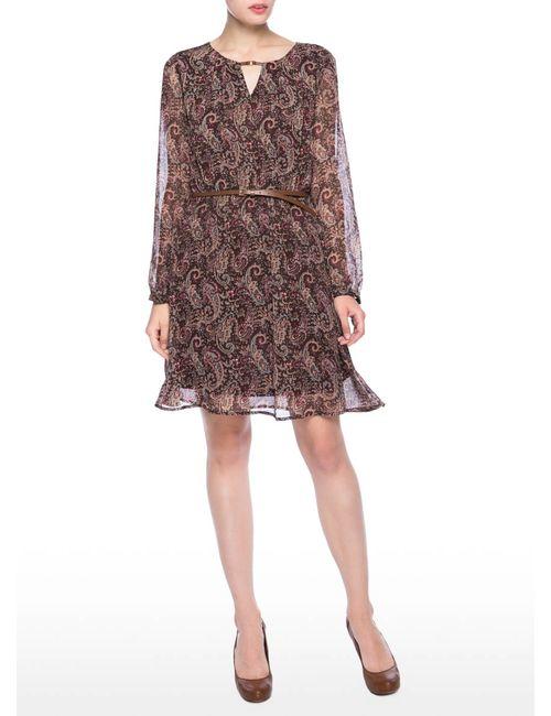 OSTIN | Женское Платье Из Принтованного Шифона