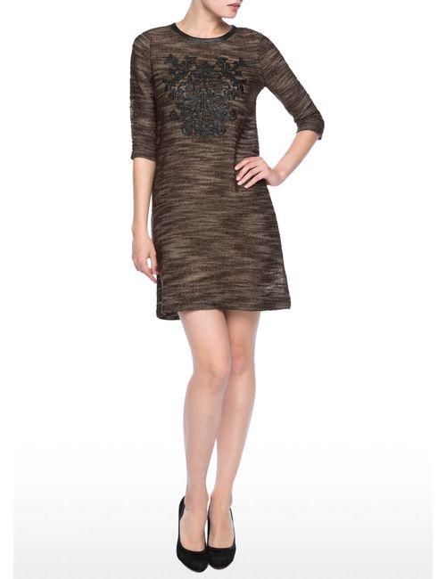 OSTIN | Женское Трикотажное Платье С Аппликацией