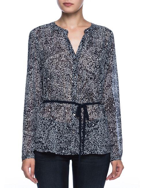 OSTIN | Женская Принтованная Блузка С Декоративным Поясом