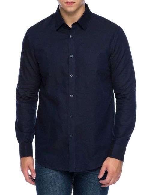OSTIN | Мужская Рубашка Из Структурного Хлопка