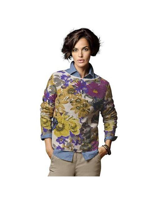 ALBA MODA GREEN | Женский Пуловер Из Кашемира