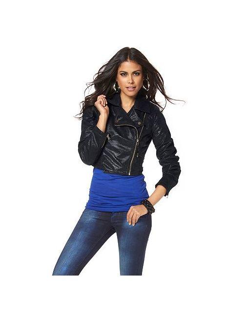 Laura Scott | Женская Куртка В Байкерском Стиле