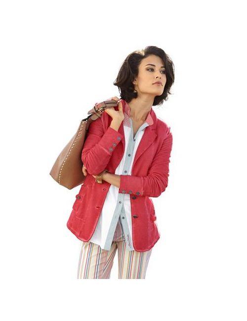 ALBA MODA GREEN | Женская Трикотажная Куртка