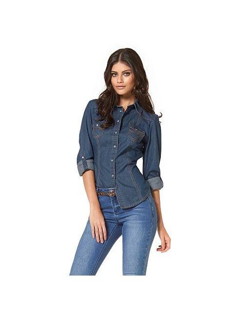Arizona | Женская Джинсовая Рубашка