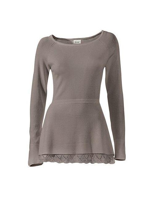 Linea Tesini | Женский Пуловер С Круглым Вырезом