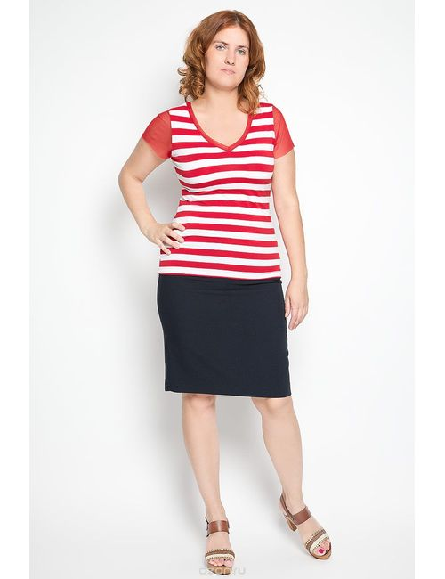 Milana Style | Женская Красная Блузка