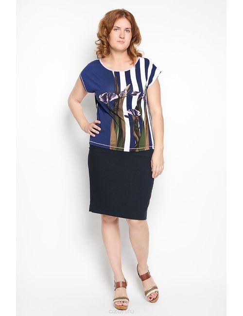 Milana Style | Женская Синяя Блузка