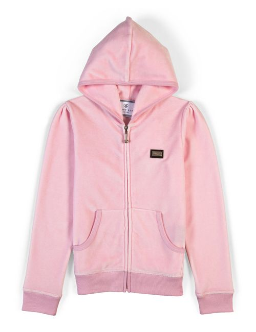 Philipp Plein   Розовый Hoodie Jacket Plein Butterfly