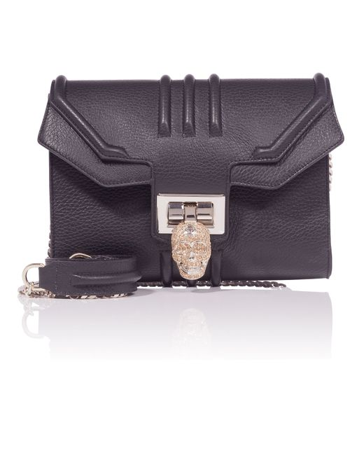 Philipp Plein | Чёрный Big Shoulder Bag Cosmos