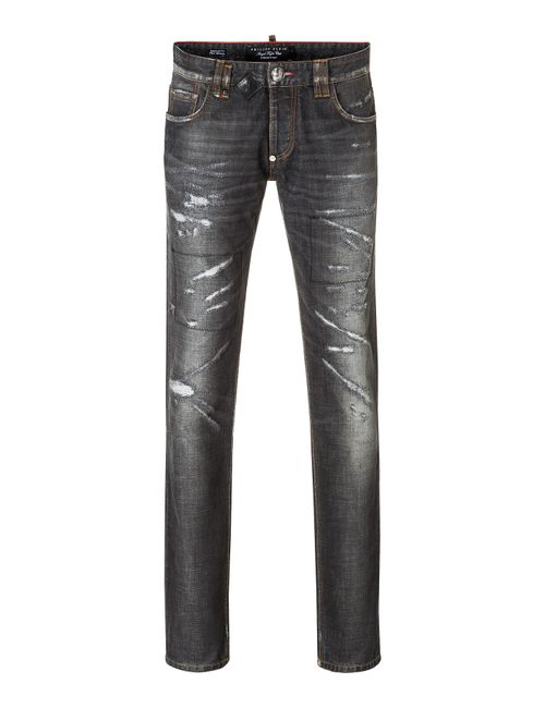 Philipp Plein | Чёрный Straight Cut Deep