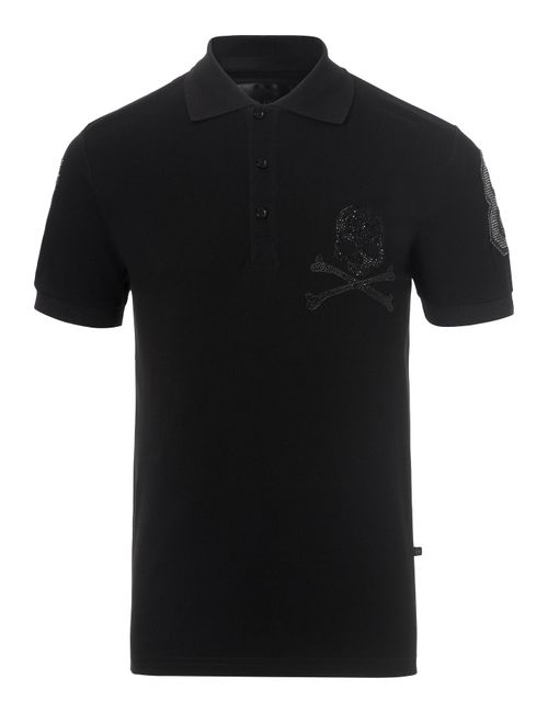Philipp Plein | Чёрный Polo Money Maker