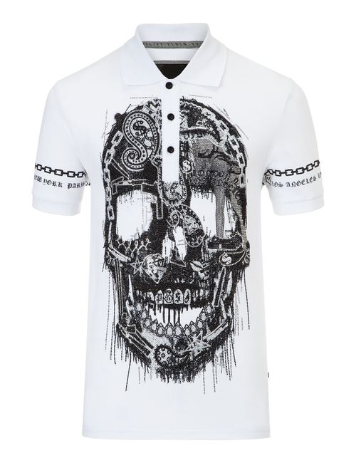 Philipp Plein | Белый Polo Learn To Fly