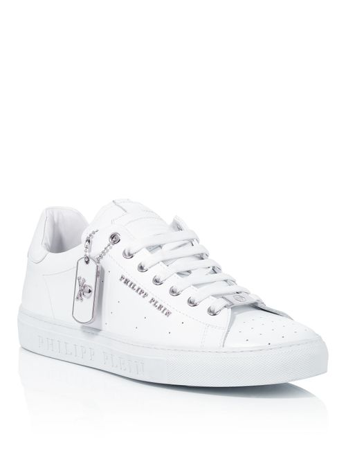 Philipp Plein | Белый Low Sneakers Block