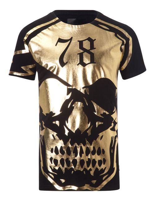 Philipp Plein | Чёрный T-Shirt Callahan