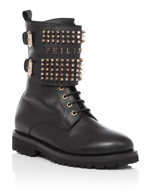 Philipp Plein | Черный Boots Fall Asleep
