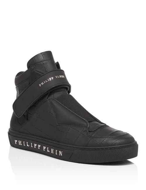 Philipp Plein | Черный High Sneakers Spinners