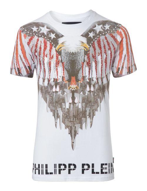 Philipp Plein   Белый T-Shirt Davie
